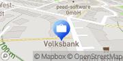 Karte Volksbank Darmstadt-Südhessen eG, SB-Filiale Theodor-Heuss-Allee, Viernheim Viernheim, Deutschland