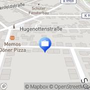 Karte Werner Frey Mannheim, Deutschland
