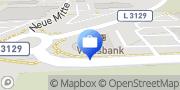 Karte Volksbank Mittelhessen eG - Filiale Pohlheim / Neue Mitte Pohlheim, Deutschland