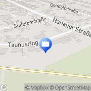 Karte HUK-COBURG Versicherung Othmar Brauburger in Wöllstadt - Ober-Wöllstadt Wöllstadt, Deutschland