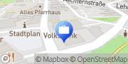 Karte Volksbank Bad Salzuflen eG Hauptgeschäftsstelle Schötmar Bad Salzuflen, Deutschland