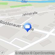 Karte Schlichterle, Hans-Peter Immobilien und Versicherungen Frankenberg, Deutschland