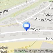 Karte Karl H. Lange Frankenberg, Deutschland