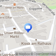 Karte HUK-COBURG Versicherung Jelena Trifunovic in Rödermark - Ober-Roden Rödermark, Deutschland