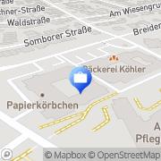 Karte R+V Versicherung Rödermark, Deutschland