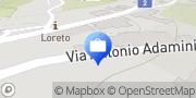 Map Allianz Suisse Lugano, Switzerland