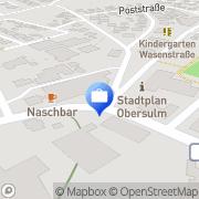 Karte Conny Schnarz GmbH Versicherungen aller Art Affaltrach, Deutschland