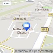 Karte Hannoversche Volksbank eG Geldautomat Haste (Netto) Haste, Deutschland