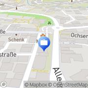 Karte Deutsche Bank Filiale Kirchheim, Deutschland