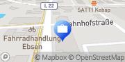 Karte R+V Versicherung Böklund, Deutschland