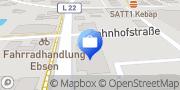 Karte VR Bank Schleswig-Mittelholstein eG Filaile Böklund Böklund, Deutschland