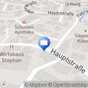 Karte VR-Bank Mochenwangen, Deutschland