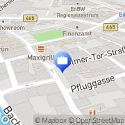 Karte Heider Vermittlungs Biberach an der Riß, Deutschland