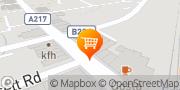 Map Tesco Express Earlsfield, United Kingdom