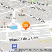 Carte de Sci Hotel d'Orleans Angers, France