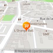 Carte de L'Orange Ball Dax, France
