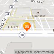 Map A&W Restaurant Hobbs, United States