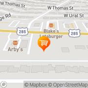 Map A&W Restaurant Carlsbad, United States