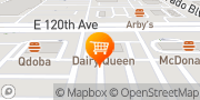 Map Dairy Queen (Treat) Thornton, United States