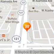 Map Whole Foods Market Lakewood, United States