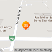 Map Good Times Burgers & Frozen Custard Sheridan, United States