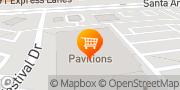 Map Pavilions Anaheim Hills, United States