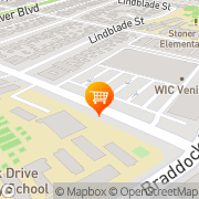 Map Top Valu Market Culver City, United States