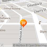 Map Pioneer Square Juice & Java Seattle, United States