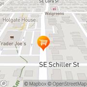 Map Trader Joe's Portland, United States