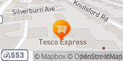 Map Tesco Express Wirral, United Kingdom