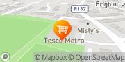 Map Tesco Metro Dublin, Ireland