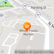 Map Whole Foods Market Andover, United States