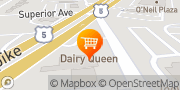 Map Dairy Queen (Treat) Newington, United States