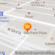 Map Godiva Chocolatier New York, United States