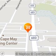 Map Bebops Ice Cream Parlor Cape May, United States