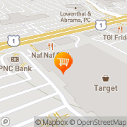 Map Crowne Plaza PHILADELPHIA WEST Philadelphia, United States