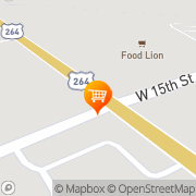 Map Food Lion: On The Go Bistro Washington, United States