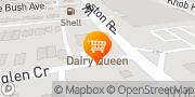 Map Dairy Queen (Treat) Toronto, Canada