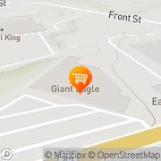Map Giant Eagle Supermarket Franklin, United States