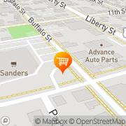 Map Shop'n Save Franklin, United States