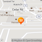 Map Heinen's Grocery Store University Heights, United States