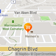 Map Heinen's Grocery Store Shaker Heights, United States