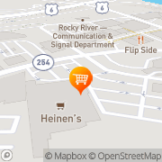 Map Heinen's Grocery Store Rocky River, United States