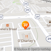 Map A&W Restaurant Spartanburg, United States