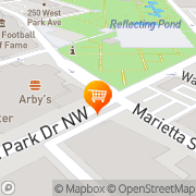 Map Philips Arena Premium Catering Atlanta, United States