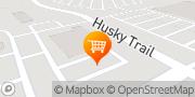 Map ALDI Warsaw, United States