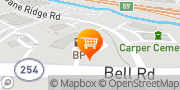 Map MAPCO Mart Antioch, United States