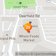Map Whole Foods Market Deerfield, United States