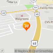 Map A&W Restaurant Paducah, United States