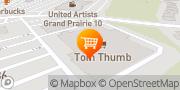 Map Tom Thumb Grand Prairie, United States